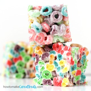 Froot Loops cereal treats