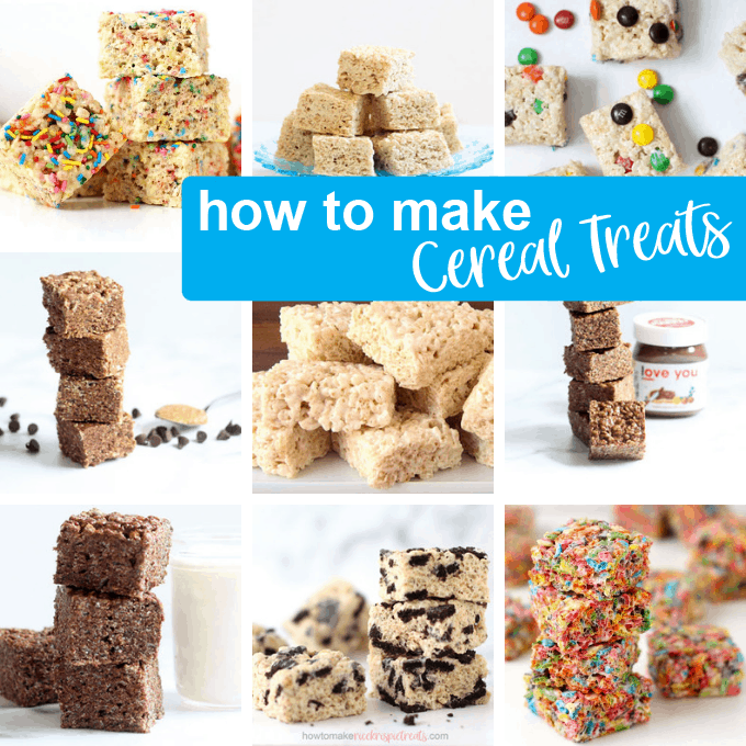 RICE KRISPIE TREATS RECIPE FAQ -- Tips For Perfect Cereal