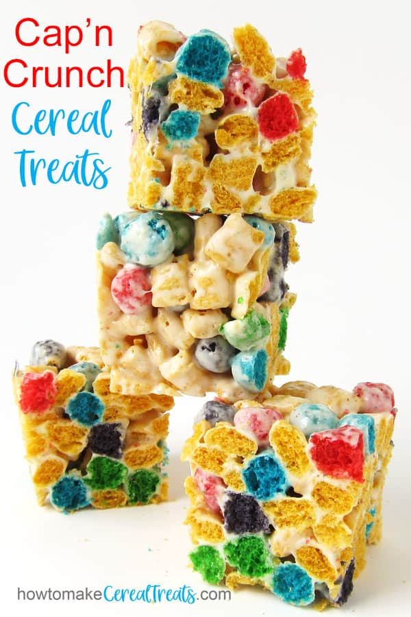 Cap'n Crunch Cereal Treats recipe image