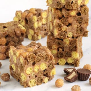 Reese's Puffs Cereal Bars recipe image