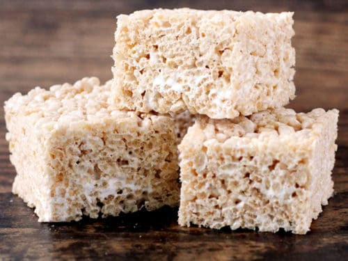 Marshmallow Fluff Rice Krispie Treats