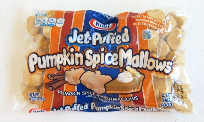 Kraft Jet-Puffed Pumpkin SpiceMallows - pumpkin spice marshmallows