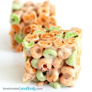 Apple Jacks Marshmallow Treats Recipe Image